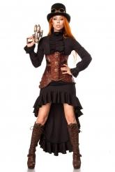 Costume di lusso steampunk donna