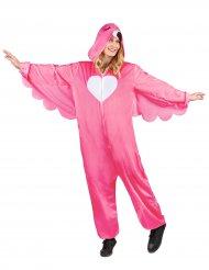 Costume fenicottero rosa per donna