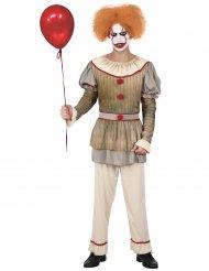 Costume clown psicopatico uomo
