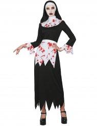 Costume suora insanguinata per donna