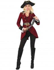 Costume pirata con giacca donna