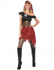 Costume pirata donna con fascia