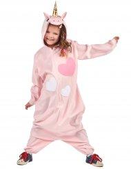 Costume unicorno tuta bambina