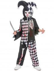 Costume da giullare insanguinato per bambino