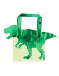 5 Buste regalo dinosauro metallizzato