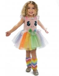 Costume da unicorno con tutu ed occhioni per bambina