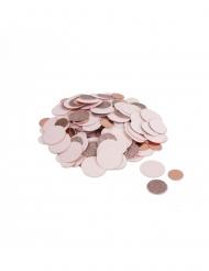 Coriandoli oro rosa metallizzati 14gr