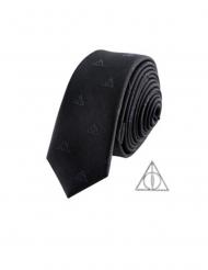 Replica cravatta con spilla Harry Potter e i doni della morte™