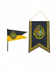 Kit bandiera e stendardo Hogwarts Harry Potter™