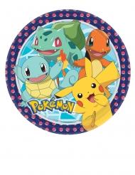 8 Piatti in cartone Pokemon™