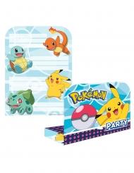 8 Inviti con busta Pokemon™