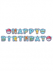 Ghirlanda Happy Birthday Pokemon™ 218 x 12 cm