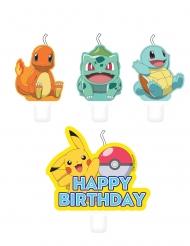 4 candele di compleanno Pokemon™