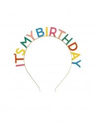 Cerchietto My birthday per adulto
