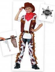 Set costume da Cowboy per bambino con accessori