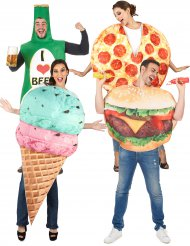 Costume di gruppo fast food