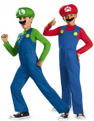 Costume coppia Mario™ e Luigi™ per bambino
