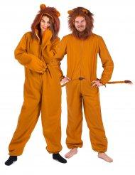 Costume coppia di leoni per adulto