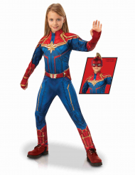 Costume deluxe Captain Marvel™ per bambina