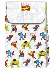 6 Buste regalo in cartone premium Avengers™ pop comics