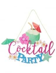 Decorazione in legno Cocktail party