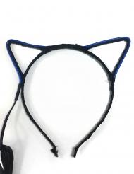 Cerchietto con orecchie da gatto led adulto