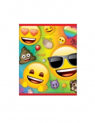 8 Buste Regalo in plastica Emoji Rainbow™