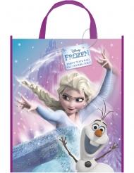 Busta regalo in plastica Frozen™ Elsa e Olaf™ 33 x 27 cm