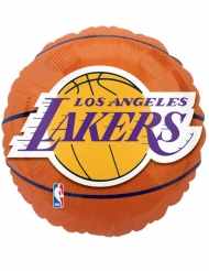 Palloncino alluminio basket NBA Lakers™ 43 cm
