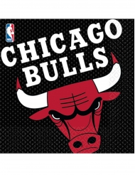 16 Tovaglioli in carta Chicago Bulls™