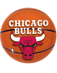 8 Piattini in cartone Chicago Bulls™