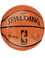 Palloncino alluminio pallone NBA Spalding™ 38 x 40 cm