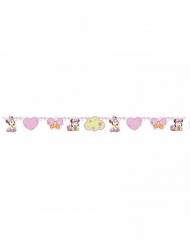 Ghirlanda in cartone Minnie bebè rosa