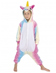 Costume tuta da unicorno arcobaleno per bambino