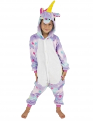 Costume tuta da unicorno con stelle per bambino