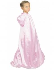 Mantello dolce principessa rosa per bambina