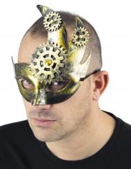 Maschera steampunk luna per adulto