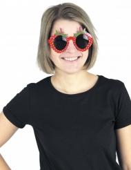 Occhiali fragola per adulto