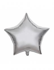 Palloncino alluminio stella argento 40 cm
