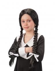 Parrucca con trecce da scolara