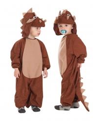 Costume tuta da triceratopo per neonato
