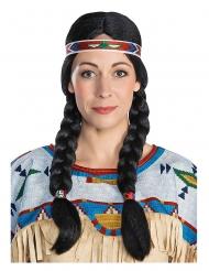 Parrucca Nscho Tschi™ indiana adulto