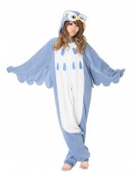 Costume Kigurumi™ da gufo per adulto