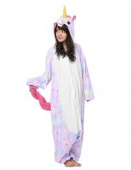 Costume Kigurumi™ da unicorno pastello per adulto