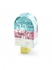 Mini pignatta gelato metallizzato 11 cm