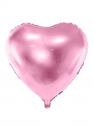 Palloncino in alluminio rosa metallizzato 45 cm