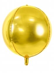 Palloncino alluminio sfera oro metallizzato 40 cm