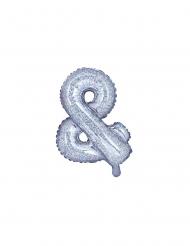 Palloncino in alluminio simbolo & iridescente 35 cm