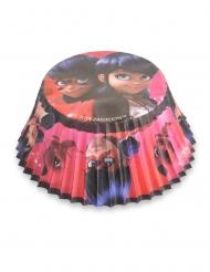 50 pirottini per cupcake Ladybug™ 7 cm