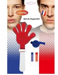Kit accessori e trucco tifoso Francia
